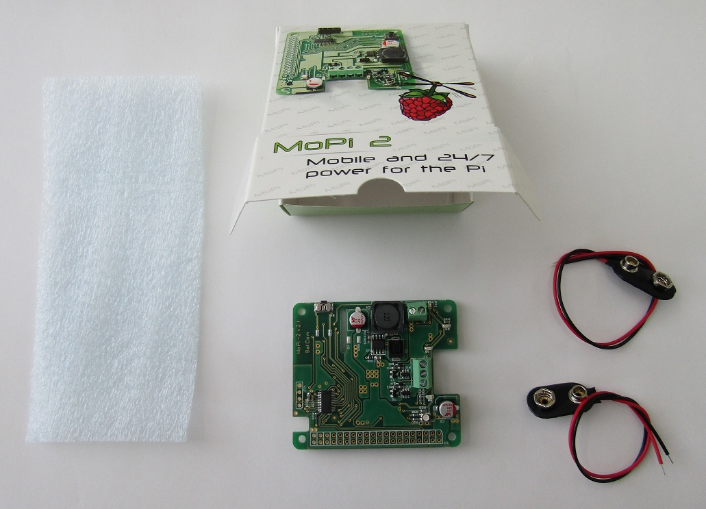 MoPi 2: Hot-Swap Mobile Power for the Pi