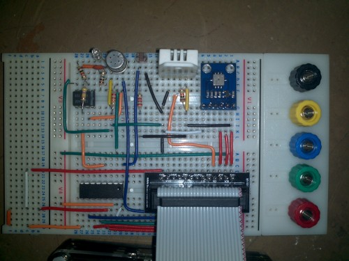 AirPi on a Breadboard