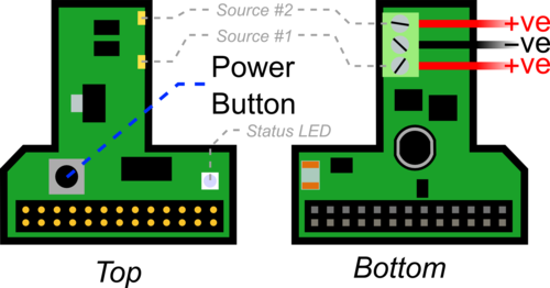 Board connections schematic 1
